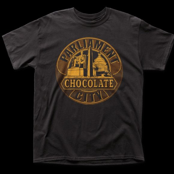 Parliament Other - Parliament – Chocolate City Men's S/S Tee Shirt